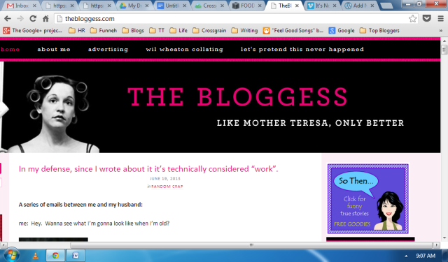 The Bloggess