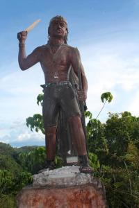 Francisco Dagohoy. He fought invaders many decades ago.