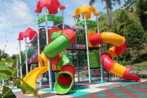 Colorful Playpen