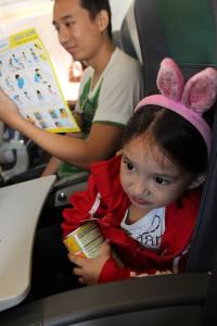 Blyf's first plane ride at the age of 3. My first plane ride was at 27.