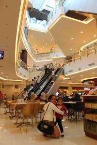 Inside Robinson's Magnolia Mall