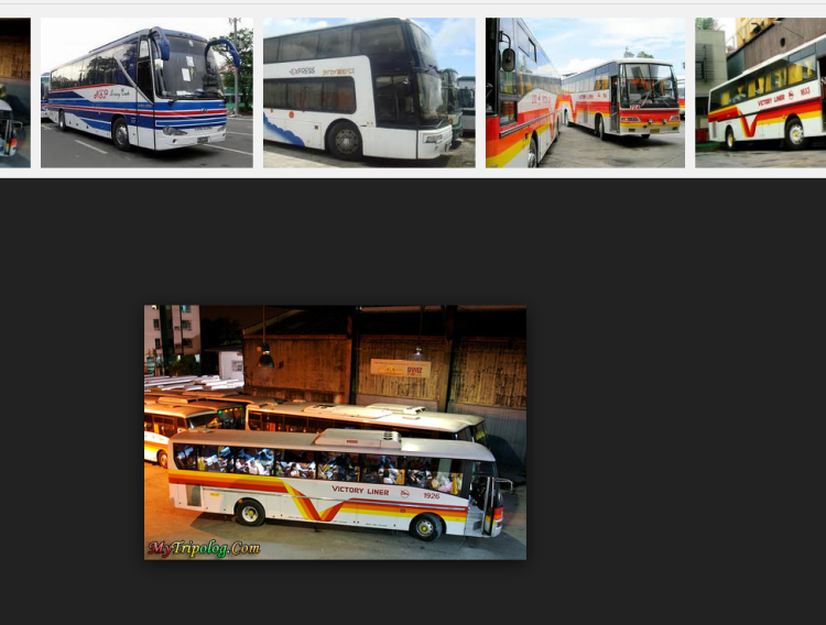 When I went to Manila, I saw buses as the main mode of transportation for most people. Since Manila is a huge place (at least for a person used to living in a small island), most people travel by bus going to other provinces.