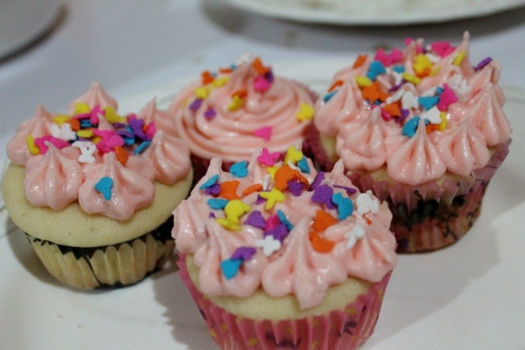 Spiked design, the pink icing is already girl enough.