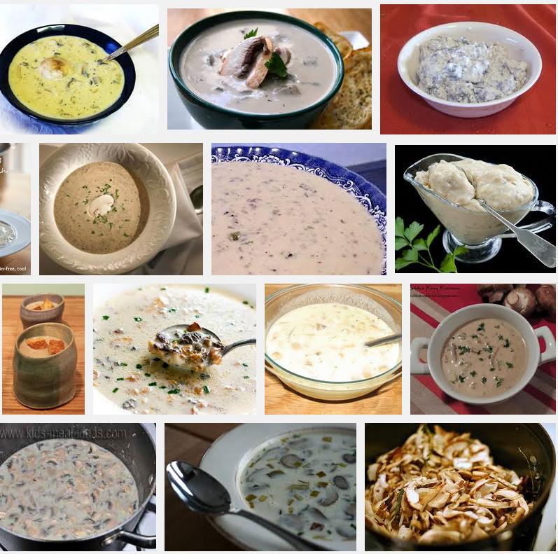I love Mushroom Soup! <3