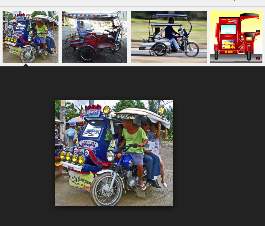 These are motorcycles with sidecar