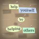 Helping others is helping myself. <3